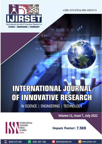 IJIRSET::HIGH IMPACT FACTOR JOURNAL: 7 089